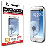 Samsung Galaxy S3 Screen Protector Ultra Clear Premium HD Version - Anti Bubble and Dust Guarantee - 3 PACK