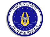 Round Air Force RESERVE Seal Sticker (united states usaf military)
