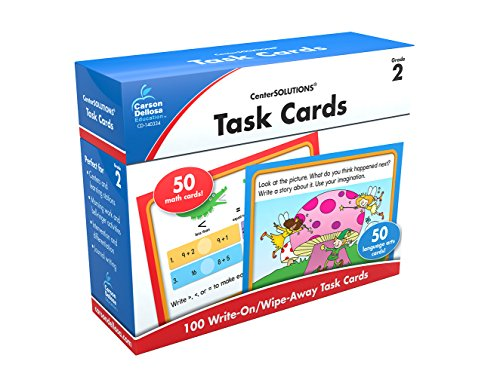 Carson-Dellosa Task Cards Learning Cards Grade (Centersolutions Language Arts)