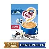 COFFEE MATE French Vanilla Liquid Coffee Creamer 24 Ct. Box | Non-dairy, Lactose Free Creamer