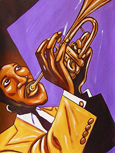 ORAN HOT LIPS PAGE PRINT POSTER man cave guitar cd lp record album vinyl Trumpet classics hits trio swing
