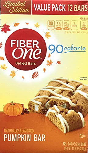 Fiber One Limited Edition Pumpkin Bar Value Pack