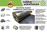"""Rubber Sheet Warehouse .375"""" (3/8"""") Thick x"""
