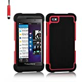 32nd Shock proof defender heavy duty tough case cover for Blackberry Z10 - Red
