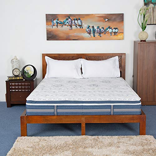 Nilkamal Firm King Size Bonnell Spring Mattress 78x72x6 Inch