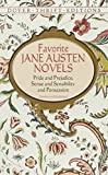 Favorite Jane Austen Novels: Pride and Prejudice, Sense and Sensibility and Persuasion (Dover Thrift Editions)