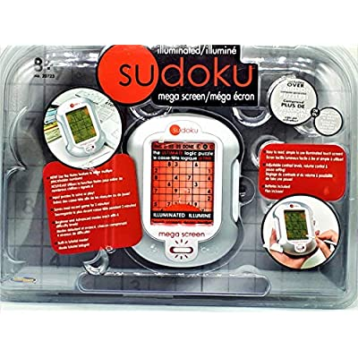 Sudoku Mega Screen - Illuminated Electronic Mega screen: Toys & Games