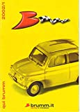Brumm Catalog 2002, Fiat Nuovo 500, 600D, 600 Multipla D, Porsche 917K, 1:43 scale