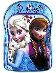 Disney Frozen Anna, Elsa & Olaf Backpack [Blue & Purple] (Fast Forward New York)