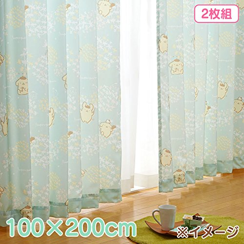 Sanrio Pomupomu pudding Pair of curtains 100 × 200cm From Japan - Seattle Outlet 200