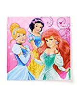 American Greetings Disney Princess Lunch Napkins, 16 Count, Party Supplies Novelty