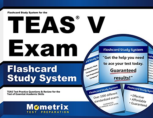 Flashcard Study System for the Teas Exam: Teas Test Practice Questions & Review for the Test of Essential Academic Skills (Secrets Of The Teas V Exam By Mometrix)