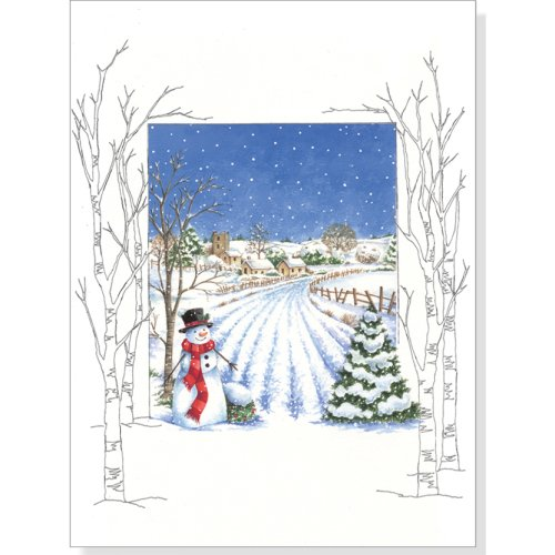 Country Snowman Holiday Boxed Cards (Christmas Cards, Holiday Cards, Greeting (Snowman Country Christmas Boxes)