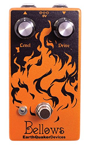 EarthQuaker Devices Bellows Fuzz Driver Guitar Effects Pedal (Best Tweed Overdrive Pedal)