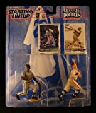 FRANK THOMAS / CHICAGO WHITE SOX & BABE RUTH / NEW YORK YANKEES 1997 MLB Classic Doubles * Winning Pairs Series * Starting Lineup Action Figures & 2 Exclusive Collector Trading Cards