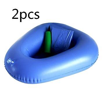 Amazon.com: zorvo bedpans baño cama sartenes aire inflación ...