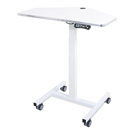 Superieur Sit To Stand Mini Desk Laptop Computer Cart, Ergonomic Electric Height  Adjustable Mobile