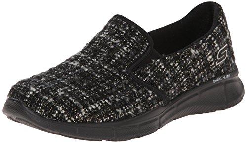 Skechers Sport Women's Mesmerized Fashion Sneaker, Black, 6 M US