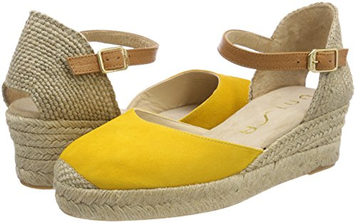18 ks Cisca Unisa Jaune Femme yellow Espadrilles pc05RBwRq
