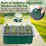 Wrexat Seed Trays Seedling Starter Tray- Humidity