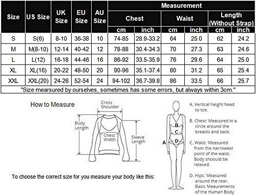 Sexy XXL Women V S Balck Neck Full Liukos 1 Nightwear Dress Cotton Slips Straight Nightgown 7d8anPqwn