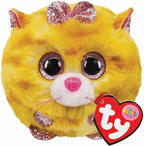 Ty UK Ltd 42507 Tabitha Kat Puffies Pluche Speelgoed Veelkleurig 7cm