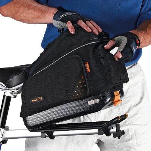 Ibera PakRak Bicycle Quick-Release Commuter Trunk Bag