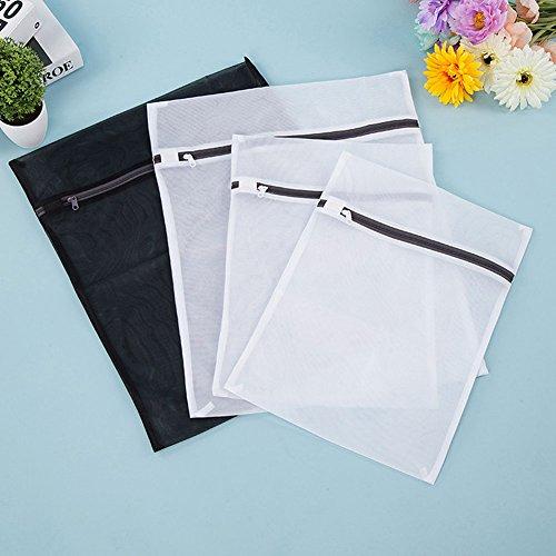 Zlimio laundry Washing bags- 2 large, 2 medium for Laundry,Hosiery,Stocking,Bra and Lingerie,Underwear,Washing Bags with Zip Lock