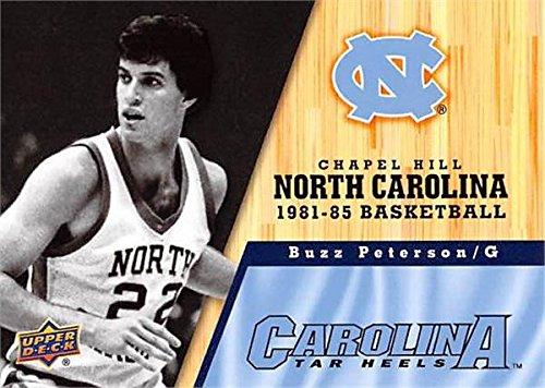 1982 Tar Heels - Buzz Peterson Basketball Card (North Carolina Tar Heels, 1981-1985) 2011 Upper Deck #44