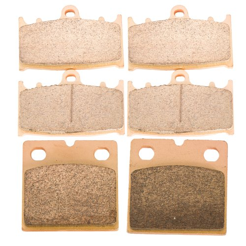 Kawasaki Zx7 Rear - Foreverun Motor Front and Rear Sintered Brake Pads for Kawasaki Ninja ZX-750 ZX-7 ZX7R 1991-1995