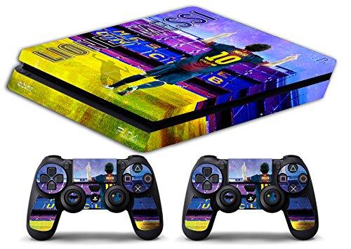 Skin PS4 SLIM HD - LIONEL MESSI FC BARCELONA ULTRAS ...