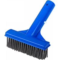 """PoolSupplyTown 5"""" Heavy Duty Pool Algae Brush with Stainless Steel Wire Bristle for Concrete and Plaster Pool Spa to…"""