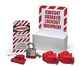 Brady 3075 Lockout Station, Filled, Electrical, 1 Lock