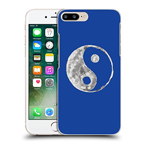 GoGoMobile Coque de Protection TPU Silicone Case pour // Q10050613 Yin yang 2 Bleu // Apple iPhone 7 PLUS