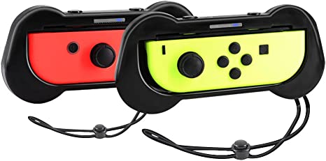 Joy-Con Grips para Nintendo Switch, Yocktec Joy Con Comfort Grip ...