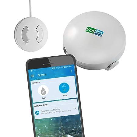 EcoNet Controls Smart Home Leak Sensor EZW1204-3 Pack of 3 , Smart Home Friendly