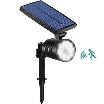 16 Led Wasserdicht Solarbetriebene Pir Bewegungserkennung Sensor Wandleuchte Outdoor Garten Pathway Balkon Veranda Sicherheit Licht Lampe SchöN In Farbe Außenbeleuchtung Solarlampen