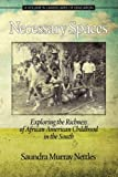 img - for Necessary Spaces: Exploring the Richness of African American Childhood in the South (Landscapes of Education) book / textbook / text book