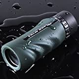 Polaris-Optics-Woodsman-10X25-Waterproof-Monocular-Ultra-Lightweight-Pocket-Size-Rugged-Non-Slip-Grip-Fits-Comfortably-in-the-Palm-of-Your-Hand-Crisp-Bright-Wide-Field-of-View