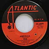 YES 45 RPM AMERICA / TOTAL MASS RETAIN (FROM