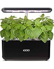 iDOO Hydroponics Growing System, Smart Indoor Herb Garden Kit with LED Grow Light, Indoor Gardening for Home Kitchen, Automatic Timer Germination Kit, Height Adjustable (7 Pods)