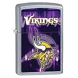 ZIPPO Refillable NFL Designed Minnsota Vikings Lighter / 28615 /