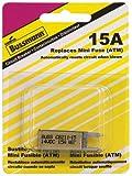 Bussmann (BP/CB211-15-RP) 15 Amp Type-I ATM Mini Circuit Breaker