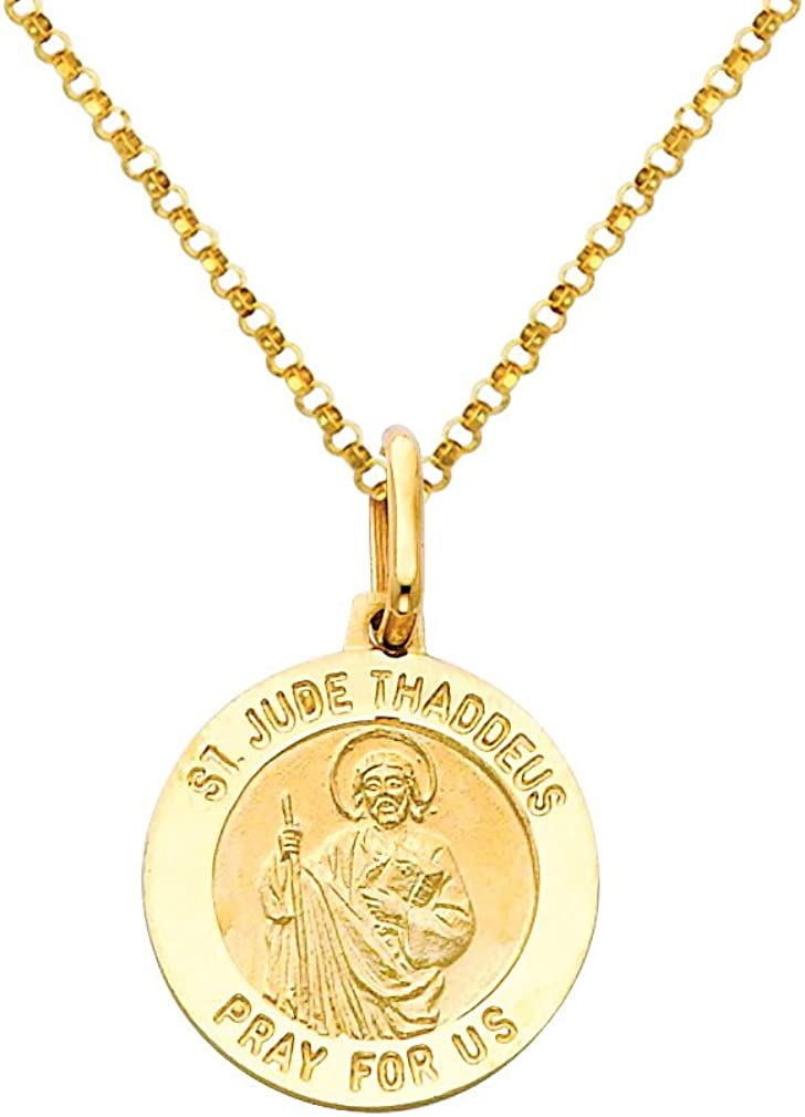 The World Jewelry Center 14k Yellow Gold Key Pendant with 1.2mm Cable Chain Necklace