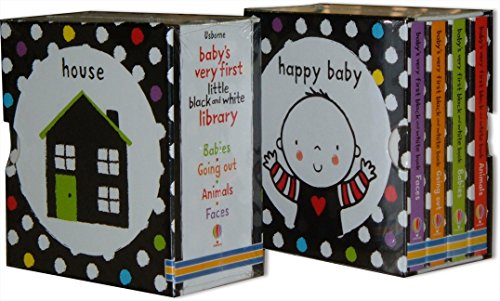 Baby's Very First Black & White Little Library Babys Very First Book
