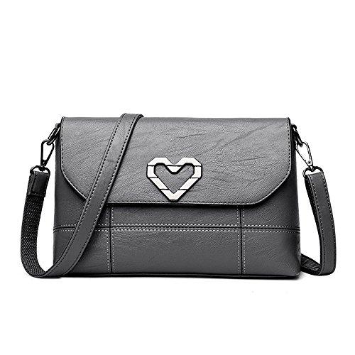 Paquete Bag Light Madre Señorita grey Bolso Único Y Nuevo Nueva Meaeo Messenger Claret Bolso Un Casual wP6q7WxCY