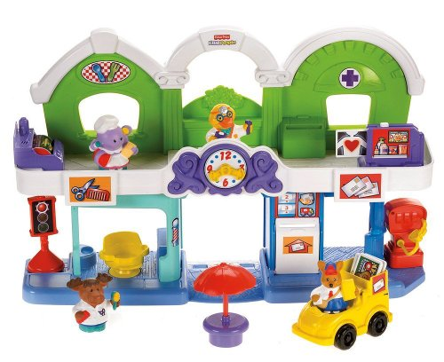 Fisher-Price Animalville Town Center Play Set (Fisher Price Town Center)