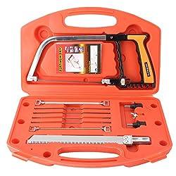 Magic Handsaws Set, Drillpro 12pcs/set HSS 12-Inch DIY Multi Purpose Bow Saw for Wood Working, Kitchen, Glass,Tile, Wood, Metal, Plastic
