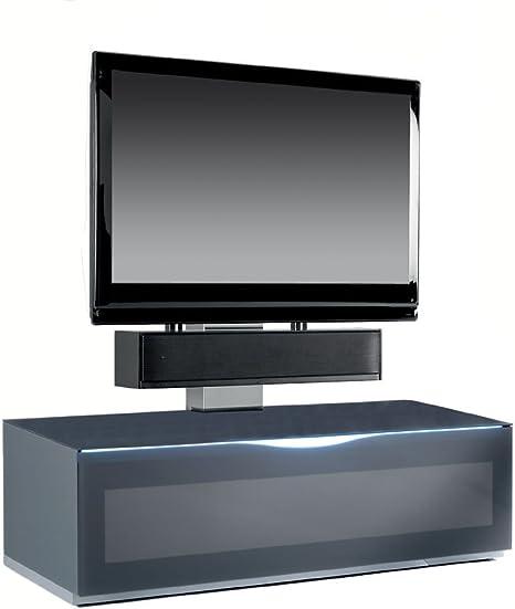 Triskom Comp 9 C cristal soporte de TV con soporte para LCD, LED o pantallas de