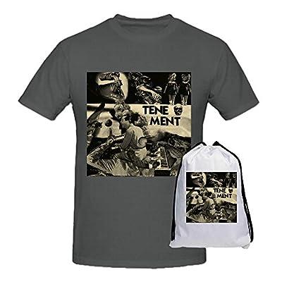 Tenement Predatory Headlights Black Tee Shirts For Men